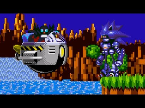 Mecha Sonic In Sonic 1 | Sonic Hacks ❄ Gameplay