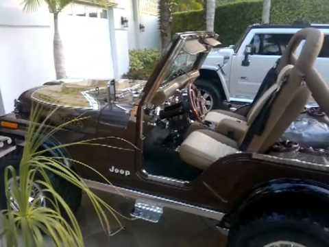Jeep CJ 5 golden eagle 1979 Full Restored