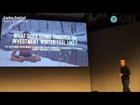 Venture Capital for AI by Carlos Espinal (Seedcamp) - AIBE Summit 2017