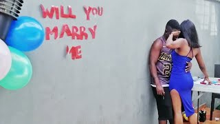 I proposed to Wodemaya in Nigeria!!! OMG! He cried?