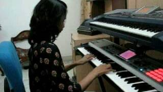 Teri Deewani - Kailash Kher - Kailasa Piano Cover Indian Hindi Instrumental Love Song on keyboards