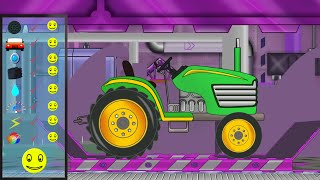 tractor repair   car service for kids   garage for children