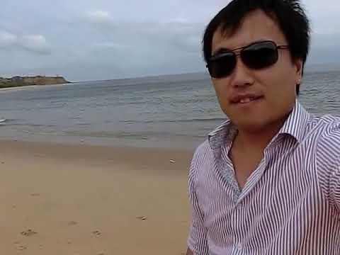 South Atlantic Ocean & Angola Beach