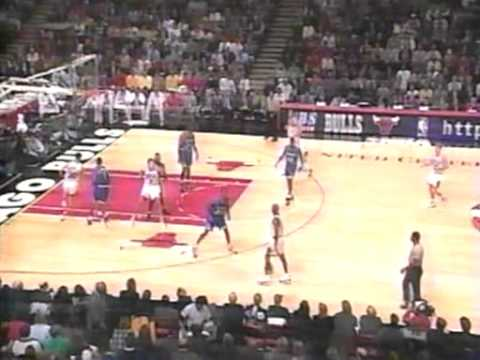 95/96 Chicago Bulls vs Orlando Magic (13.12.1995)