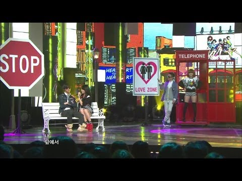 【TVPP】4MINUTE - Heart To Heart, 포미닛 - 하트 투 하트 @ Music Core Live