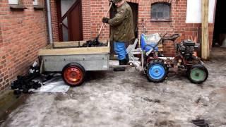 Traktorek SAM i 600 Kg Węgla