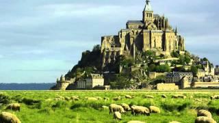 Замок Мон-Сен-Мишель(Во Франции Мон-Сен-Мишель уступает в популярности только Эйфелевой башне и Версалю. Согласно легенде, замок..., 2014-07-16T18:23:50.000Z)