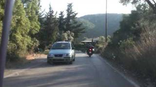 7TH VFM - ARRIVING AT CAMPING AT POROS - LEFKADA