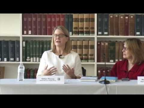 HLS Library Book Talk | Gillian Thomas' 'Because of Sex'