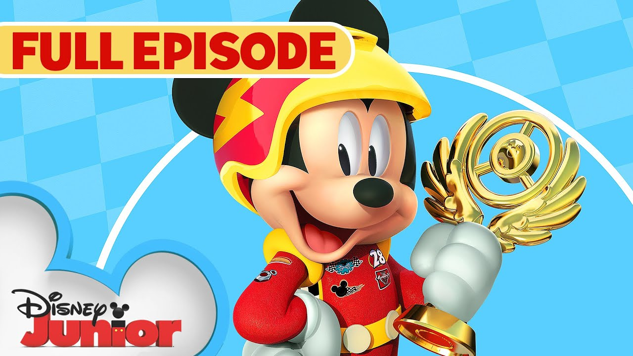 Download Goofy Gas! 🏎️  / Little Big Ape 🐵   Full Episode   Mickey and the Roadster Racers   Disney Junior