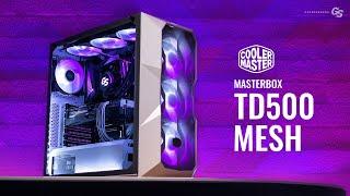 Helped Design This Case   Cooler Master TD500 Mesh White