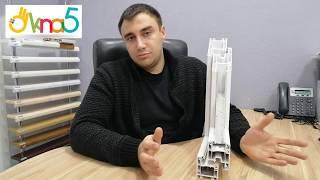 Пластиковые окна KBE 58 - видео ОКна 5. Металлопластиковые окна KBE Classic - обзор компании ОКна 5.