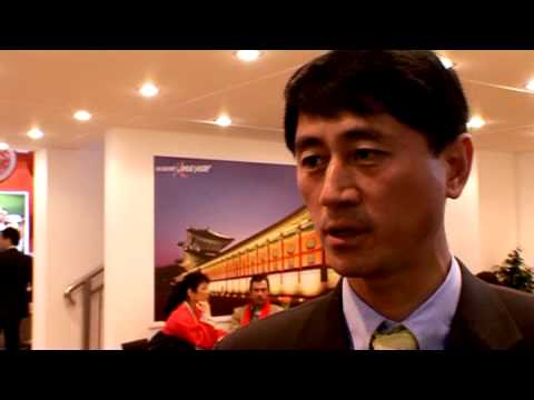 Muchol Shin, Vice President, Corporate Communications, Korean Air @ ITB 2010
