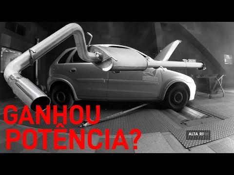 DINAMÔMETRO: 1.0 + ESCAPE ESPORTIVO! DEU CERTO? GANHOU POTÊNCIA E TORQUE? #TESTAREY