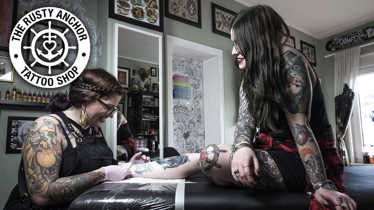The rusty anchor tattoo studio imageclip youtube for Studio 7 tattoo