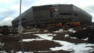 Guldfågeln Arena i Kalmar - 27/2 2011