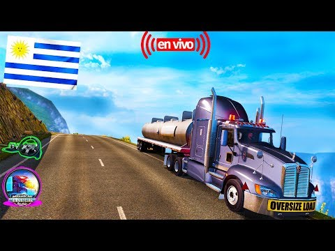American Truck Simulator Map Uruguay Montevideo Camion--T660 - Kenworth [1.6] HD