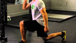 Front to Back Lunges