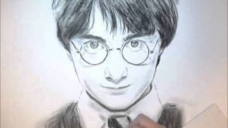 harry potterdaniel radcliffe drawing amane