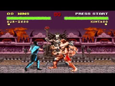 Mortal Kombat 2 Glitch Collection