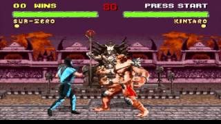 Mortal Kombat 2 Glitch Collection