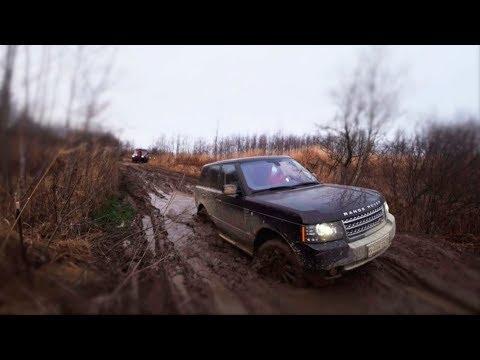 Кто лучше валит на стоке? Range Rover, УАЗ, Cherokee, Subaru, Mitsubishi, Лексус. Часть вторая