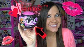 Valentines LOL Surprise Dolls Custom Confetti pop Series 3 wave 2 Big Sisters