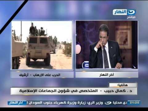 اخر النهار - محمود سعد    تغطيه شاملة لحادث سيناء الارها�...