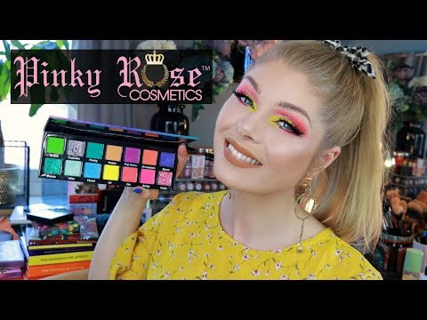Pinky Rose Bright Lights Palette | Review & Swatches