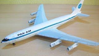 Panam Boeing 707 Papercraft