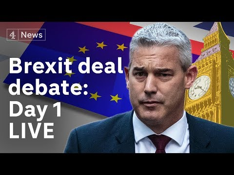 Brexit debate day 1: MPs discuss Theresa May's deal|#BREXIT
