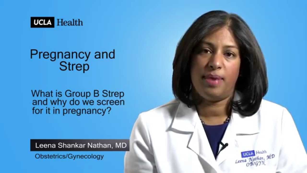 Real Questions | Pregnancy and Strep | UCLA OB/GYN
