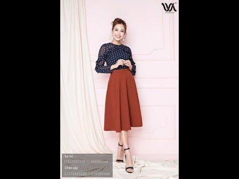 Số 1: Cách cắt chân váy xòe 180 độ( công thức 2018)- Cương Nguyễn.