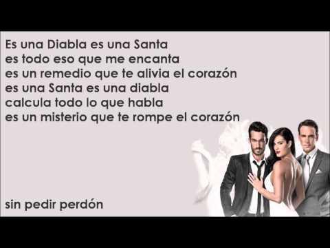 Santa Diabla - Aaron Díaz & Carlos Ponce [Canción Completa Con Letra]