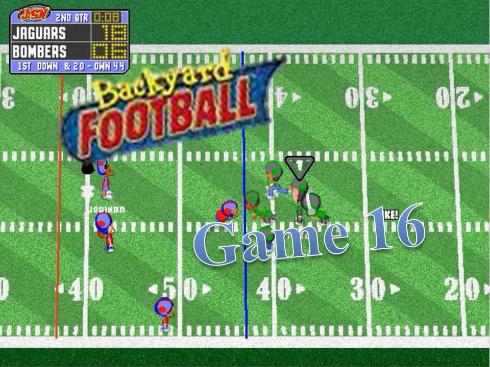 Backyard Football 1999 (PC) Game 16: Fight for the Finals ...
