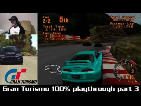 Gran Turismo 100% playthrough Part 3 - A lot of enduring