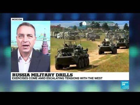 Russia military drills: 300,000 troops taking part alongside Chinese soldiers