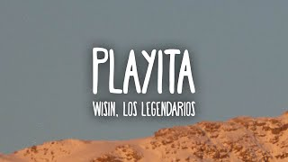 Wisin, Los Legendarios - Playita (Letra/Lyrics)