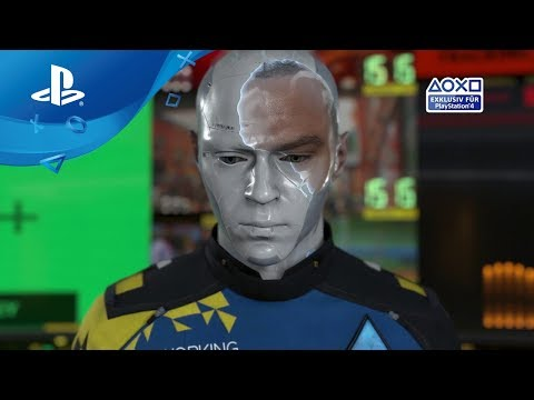 Detroit: Become Human - Launch Trailer [PS4, deutsch]