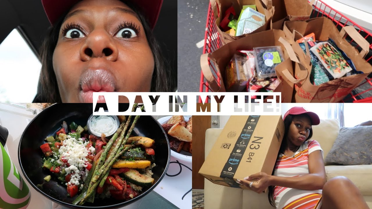 FOOD!!! + GROCERY SHOPPING ADVENTURES! + Amazon unboxing!!!