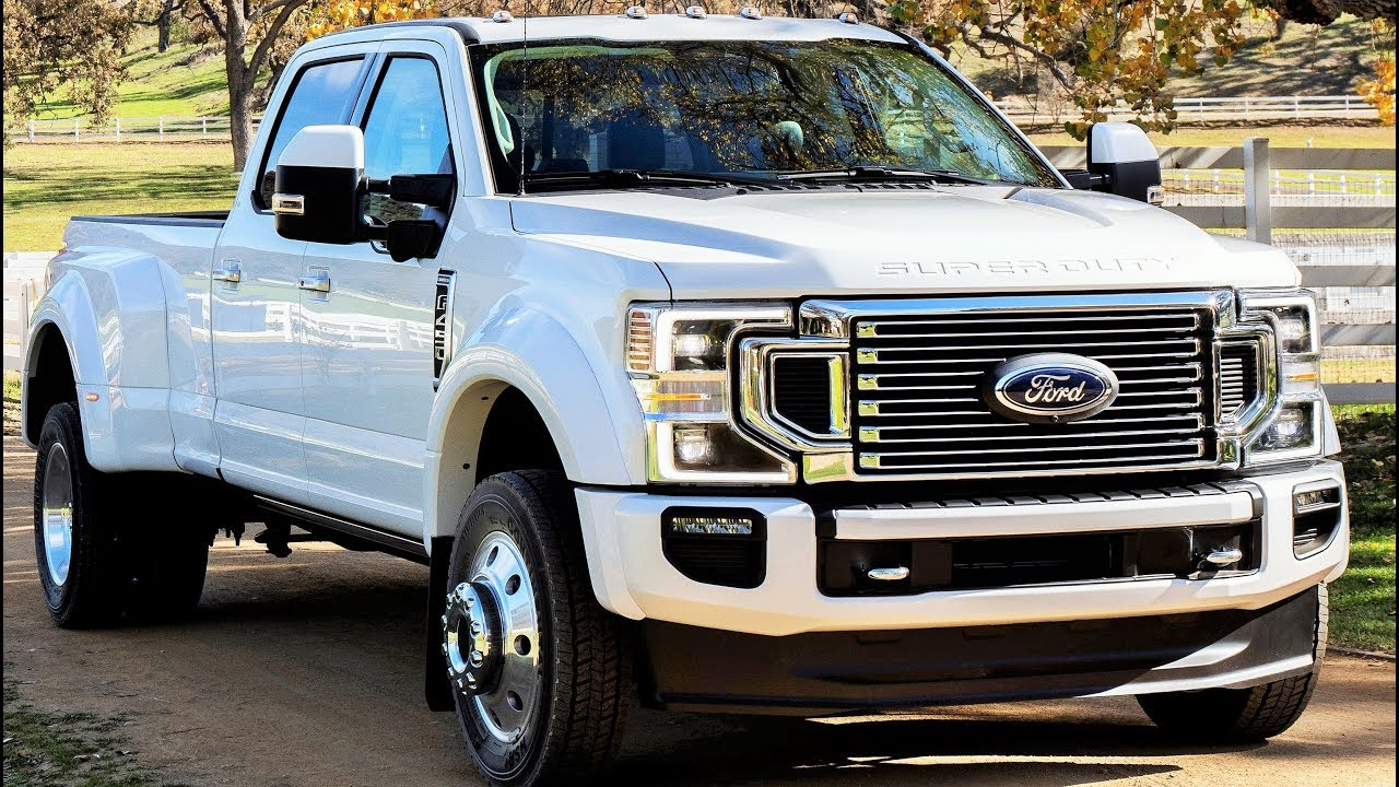 2020 Ford F-450 Powertrain, Platinum, Super Duty, And Release Date >> 2020 Ford Super Duty F 450 Limited Super Duty Pickup Raises Bar Again