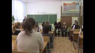 Ветераны Великой Отечественной войны преподали урок мужества воспитанникам интерната