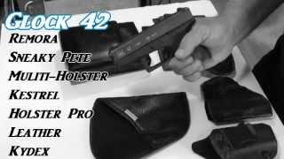 "Video Best Holster For ""GLOCK  42"" Remora, Sneaky Pete, or Kestrel download MP3, 3GP, MP4, WEBM, AVI, FLV Juni 2018"