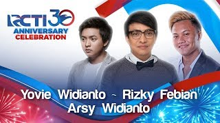 RCTI 30 ANNIVERSARY CELEBRATION Yovie ft Rizky Febian Arsy Janji Suci MP3
