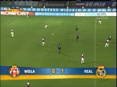 2004 August 11 Wisla Krakow Poland 0 Real Madrid Spain 2 Champions League