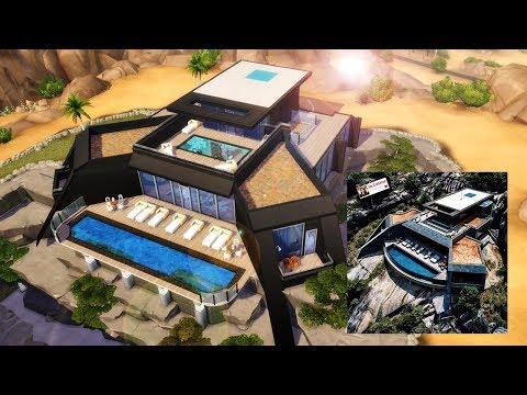 MANSÃO NO DESERTO - Real to Sims #5 │The Sims 4 (Speed Build)