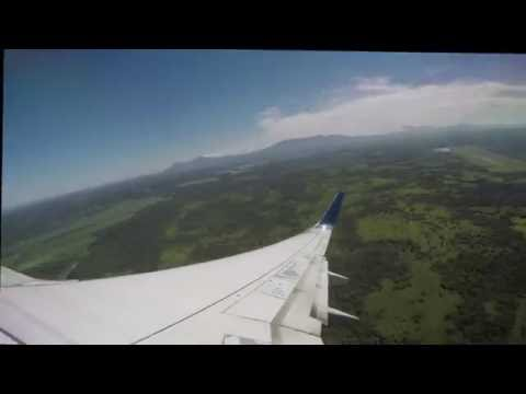 Take off from Liberia CR