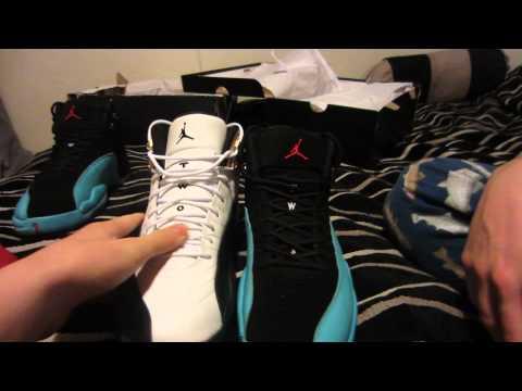 Air Jordan Super Perfect Gamma Blue 12 Retro (REAL VS. FAKE) DISCOUNT!