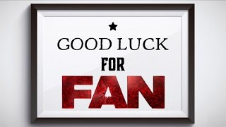 Good Luck For FAN | Video by Malaysian SRKians