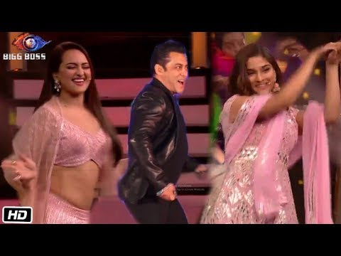 Salman Khan, Sonakshi and Saiee Manjrekar Amazing Performance at Bigg Boss 13 | Dabangg 3 Promotion